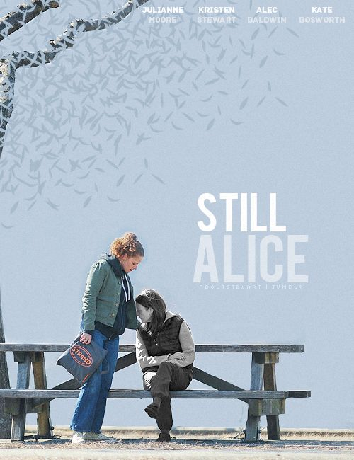 Still Alice - Such a heartbreaking movie. Alzheimer's is such a terrible disease. Couldn't imagine having a loved one go through this. Memories are such a precious thing, losing them must be so incredibly painful.