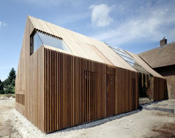 ...wood cladding | My Dream | Pinterest | Extensions, Holland och Skogar