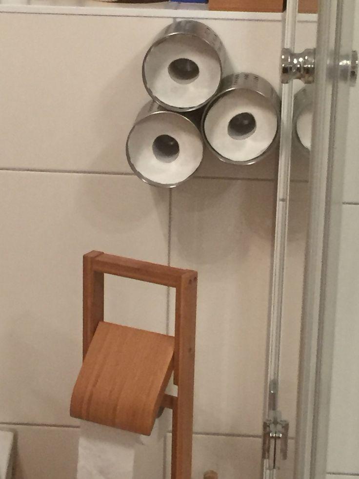 Ikea hack - Toiletten Rollen Ersatz mit Besteckständer Ordning