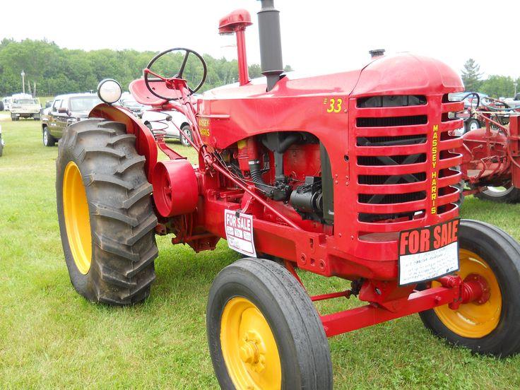 1958 Ferguson Tractor Attachments : Massey harris https youtube user