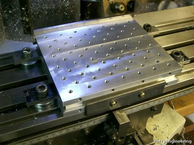 Cross Slide Tool Mounting Plate For The Boxford Clamps