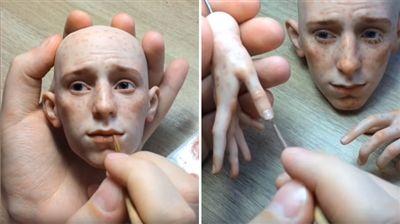 Les poupées de cet artiste sont tellement réalistes qu'elles en deviennent effrayantes (vidéo)