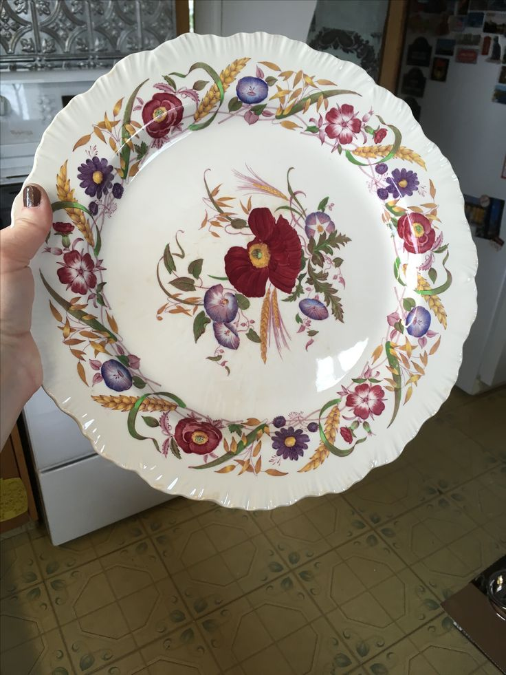 Small tray or large plate.  Value Village $12.99 (ouch!).
