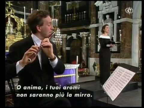 "Bach: ""Seele, deine Spezereien"", Oster Oratorium, BWV 249 (pelo Collegium Vocale, de Gent, dirigido por Philippe Herreweghe; Agnès Mellon, soprano; Patrick Beuckels, flauta barroca)."