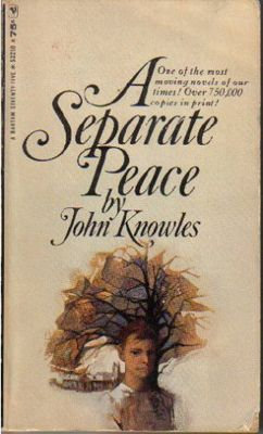 an analysis by a separate peace by john knowles Essay on a separate peace analysis can one live in the illusion they create for themselves in an attempt to escape the realities of their life choices the book, a separate peace by john knowles, is a novel narrated by a character named gene.