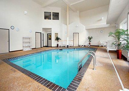 Come take a dip in our indoor pool! #pool #indoor #relax