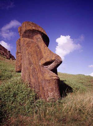Easter Island, off coast of Chili