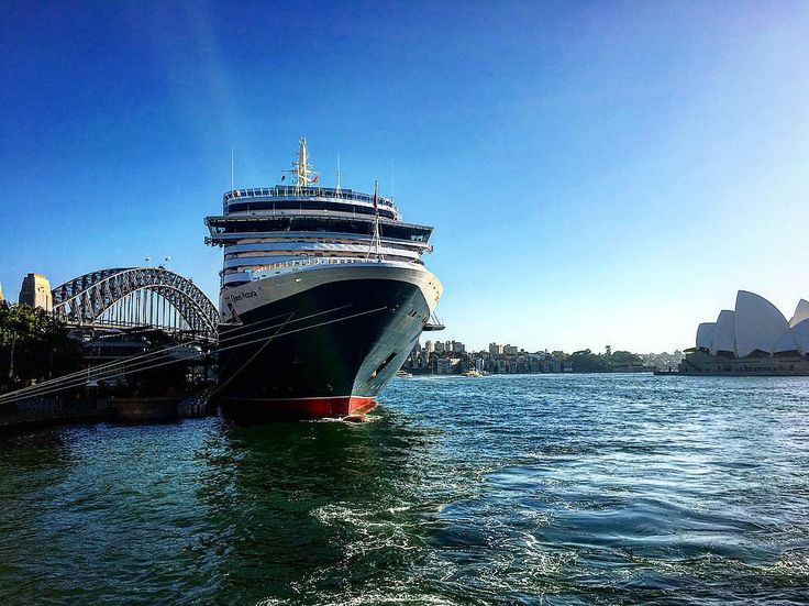 Queen Victoria Cruise Ship Docked in Sydney on a Sunny Morning #sydney #australia #queenvictoria #cunard #sydneyharbour #sydneyoperahouse #sydneybridge #sydneyharbourbridge #cruise #cruiseship #sunny #nsw #seeaustralia #instapic #instadaily #all_shots #all #world #sea #sailing #newsouthwales by sydneysnapsnb http://ift.tt/1NRMbNv