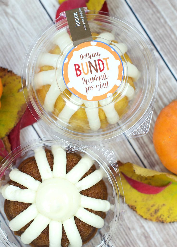 Nothing Bundt Thankful for You Thanksgiving Gift