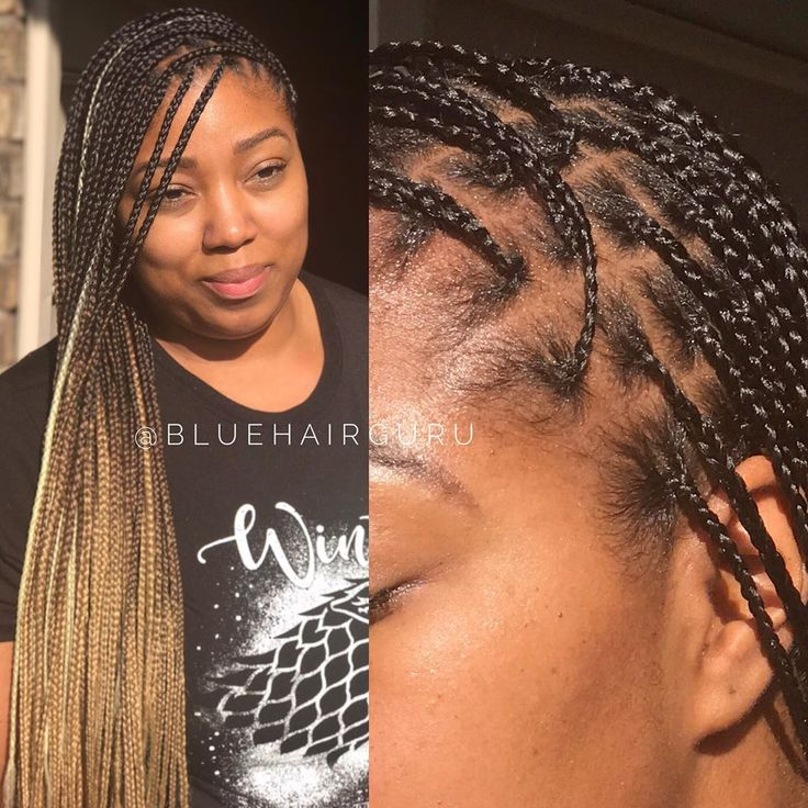 Antarnesha Blue On Instagram Ombre Knotless Braids