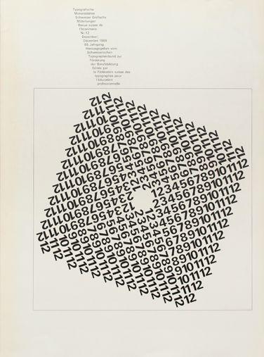 TM SGM RSI, Typografische Monatsblätter, issue 12, 1969. Cover designer: Theophil Stirnemann