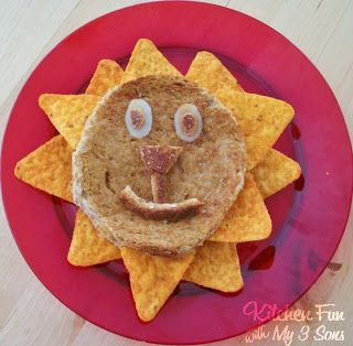 Grilled Cheese Lion - Kitchen Fun With My 3 Sons