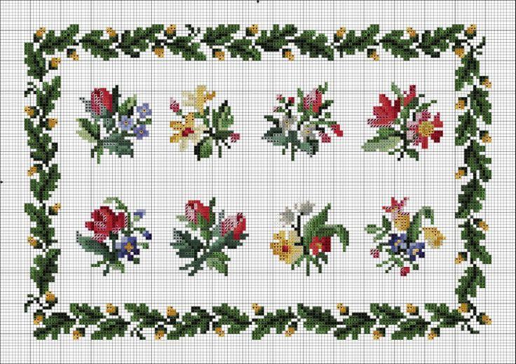 Gallery.ru / Фото #38 - Схемы вышивки крестом - pustelga