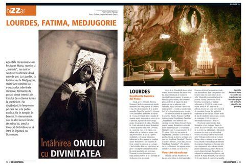 Lourdes, Fatima, Medjugorie