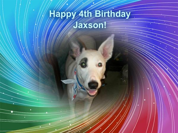 Jaxson's 4th birthday, 2011, LOVE
