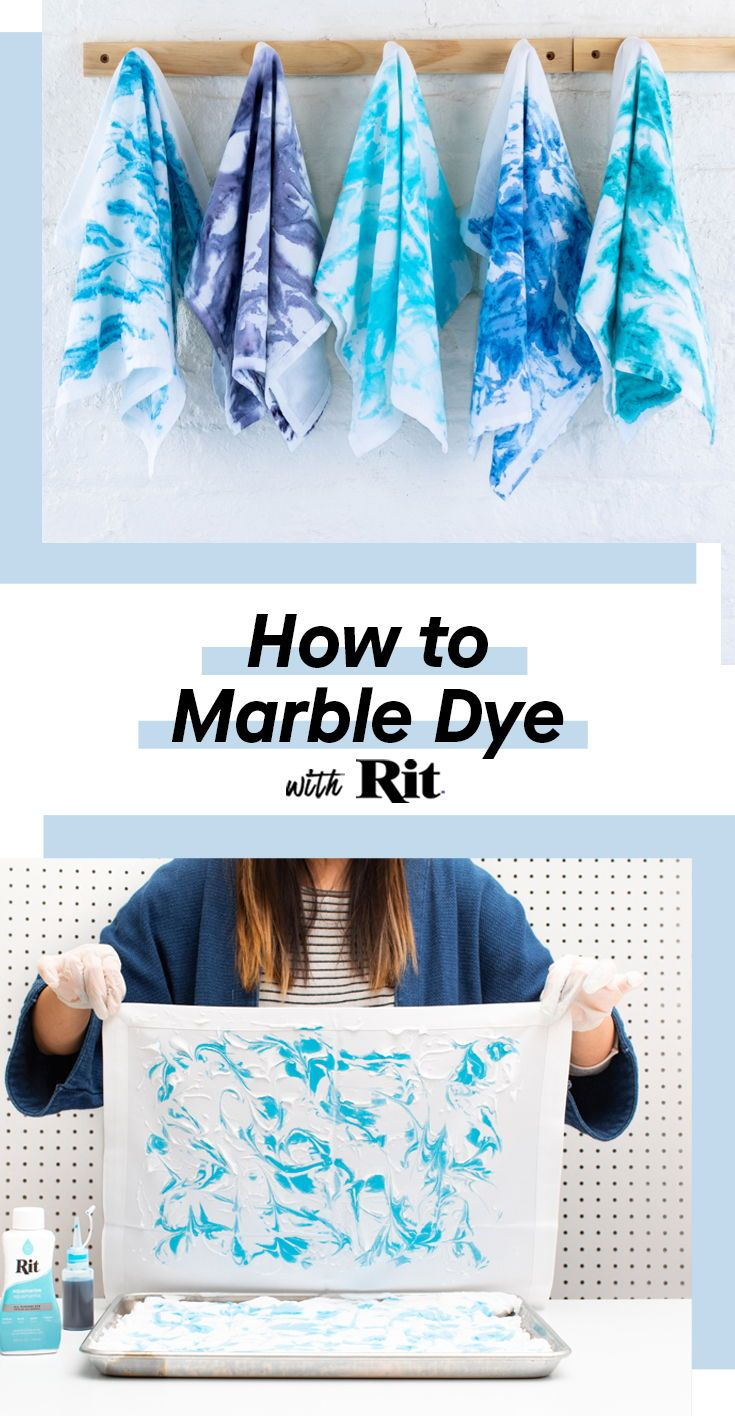 Learn How To Marble Dye With Rit Oh Marbling How We Love You The Classic Swirling Technique Is So Cool So Fun To Do Tie Dye Diy How To Dye