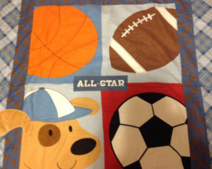 25 Best Ideas About Sports Quilts On Pinterest Quilt