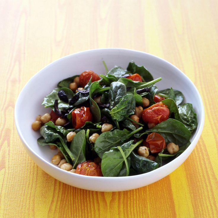 Summertime meals just got easier thanks to this warm spinach salad.