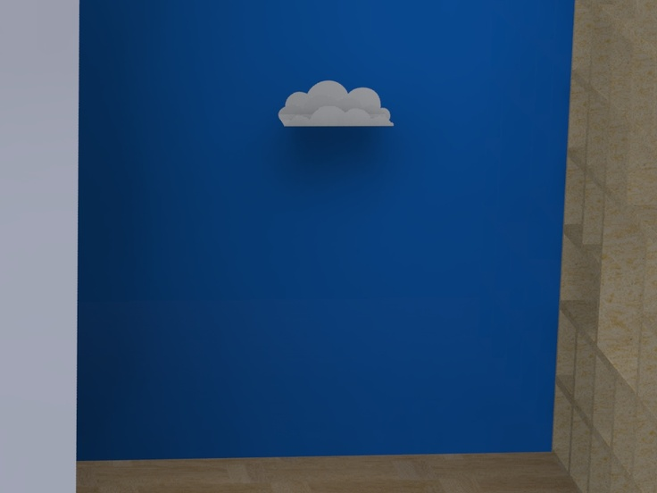 etajera-nor-pentru pereti albastrii cloud-shelf-for-blue-walls