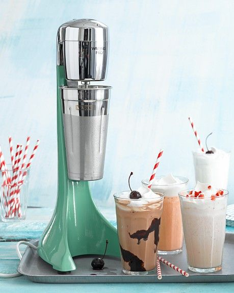 Waring Milk Shake & Drink Mixer I want it so bad!!! I would start having everyday milkshake parties...cause that is a thing!