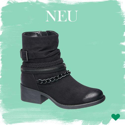 Die schwarzen Boots von Deichmann sind dank ihrem warmen Futter genau richtig für die kalte Wintersaison <3 #Deichmann #Schuhe #New #Trend #Fashion #Winter #gefüttert #Boots #Graceland