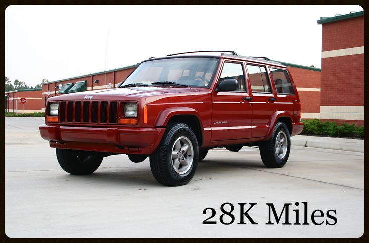 Jeep Cherokee XJ Sport For sale - Low Mileage Original Cherokee XJ For Sale — Davis Autosports