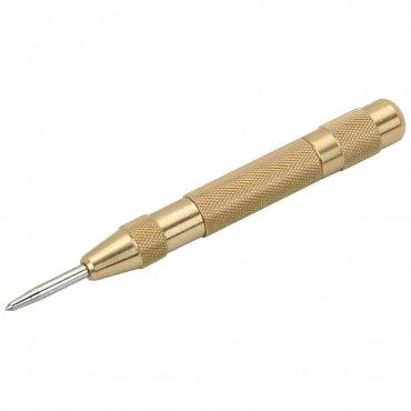 Automatic Center Punch with Brass Handle $2.99 I have a few of these because I always misplace them.