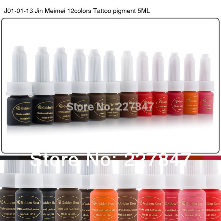 Aliexpress.com: Comprar Chuse j01 01 13 semi maquillaje permanente pigmento 12 colores de tinta del tatuaje kit 10 ml de alimentación para microblading labio de la ceja del tatuaje de kit de tinta del tatuaje fiable proveedores en CHUSE Makeup Store