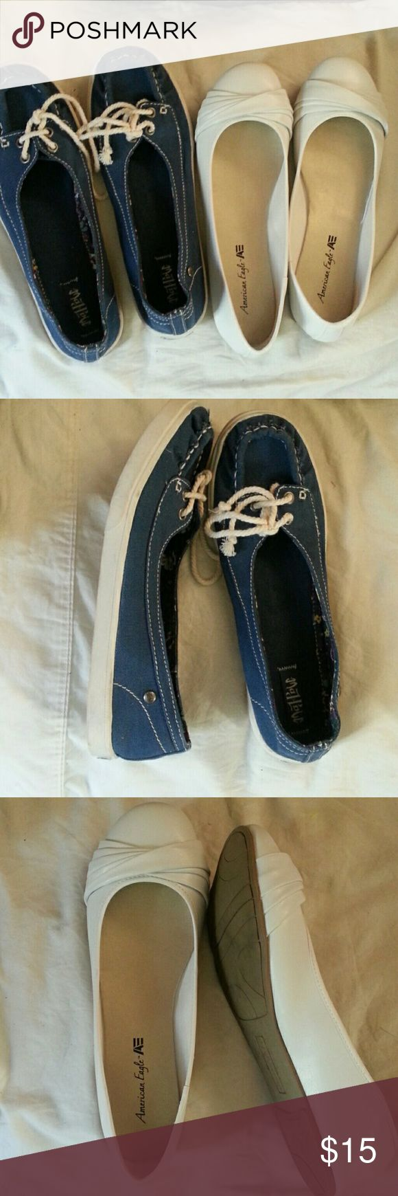 Ladies  shoes#BUNDLE Flats and loafers  both  size  9 Shoes Flats & Loafers