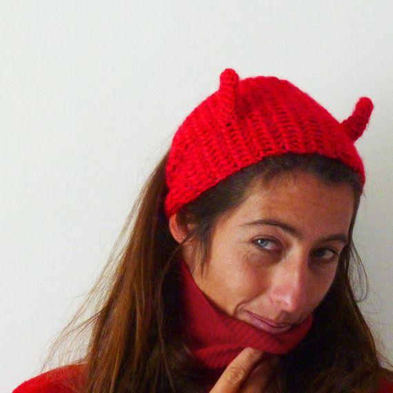Headband Crochet Pattern PDF  Devil, Monster or Dino  halloween costume accessory