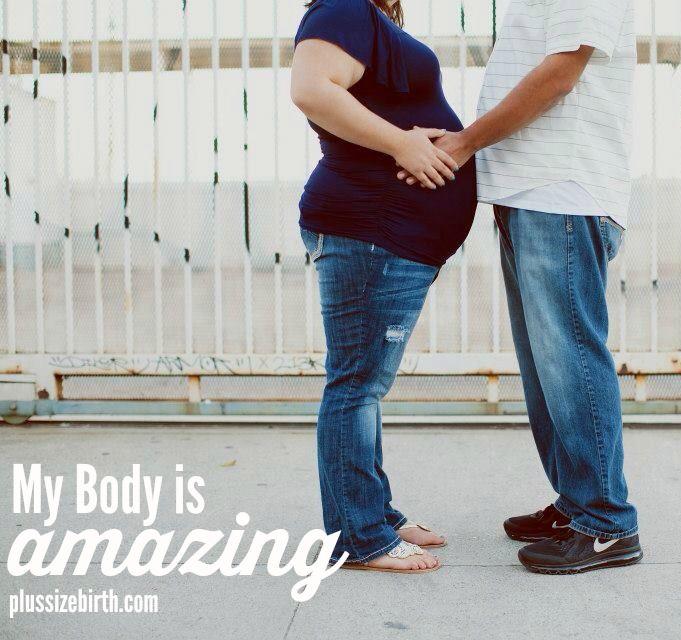 Plus size pregnancy, birth, and motherhood resources! #plussizepregnancy #plussizebirth #pregnant #pregnancy