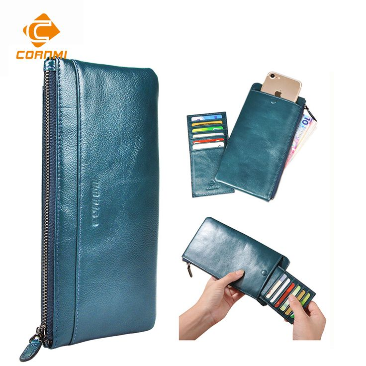 Purse Bag For iphone 7 7 Plus 5 SE 6 6S Plus Case For Samsung J5 S6 S7 Edge Men Women Wallets Genuine Leather Universal Carteira-in Wallet Cases from Cellphones & Telecommunications on Aliexpress.com | Alibaba Group
