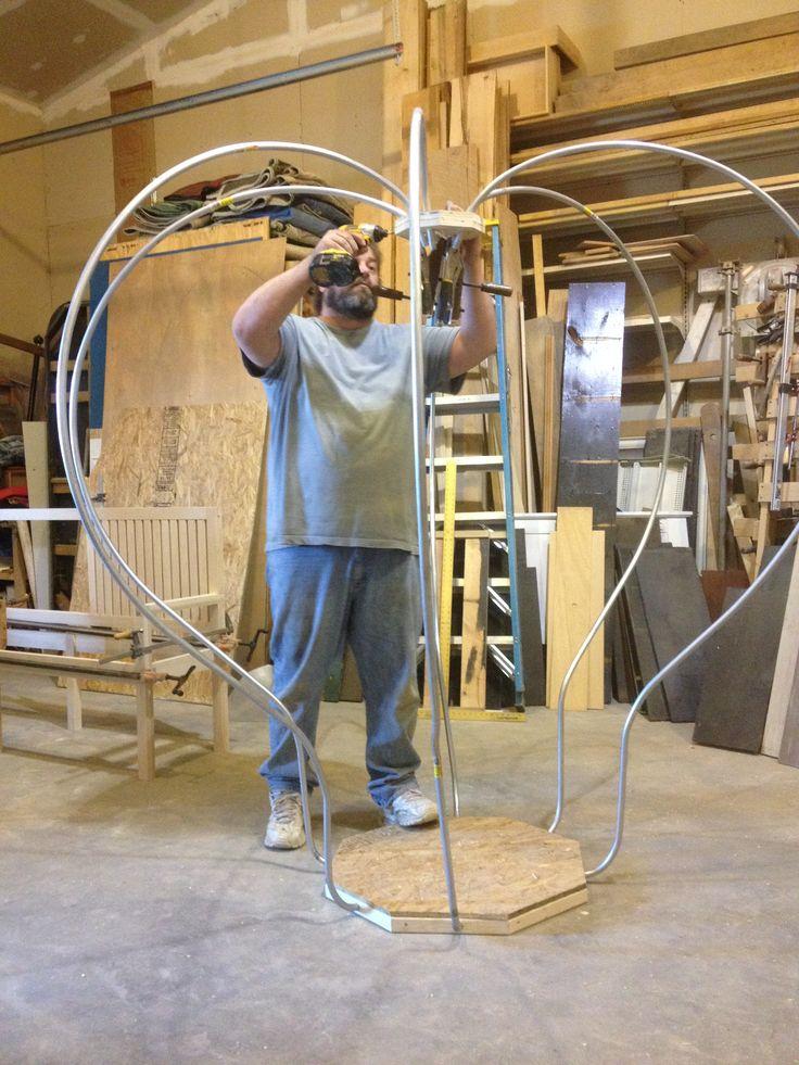 Building Cinderella's Carriage,greenfieldwoodworks.com