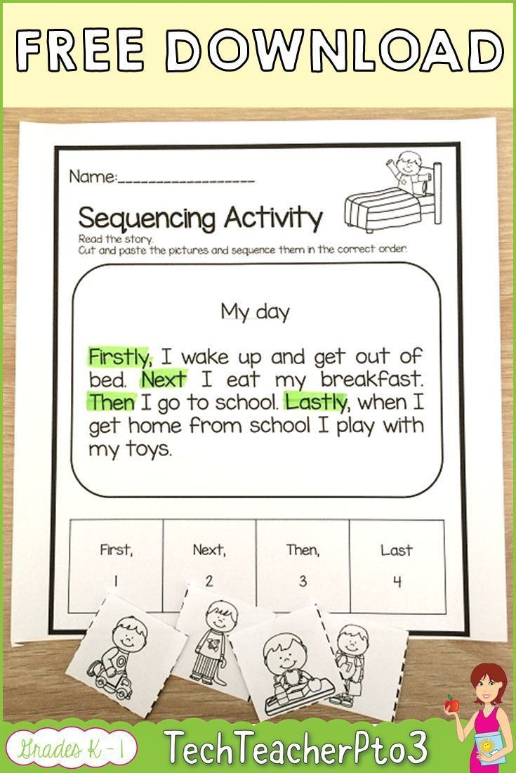 7 Sequencing Events In A Story Worksheets Sequencing Activities Sequencing Worksheets Sequencing Activities Kindergarten