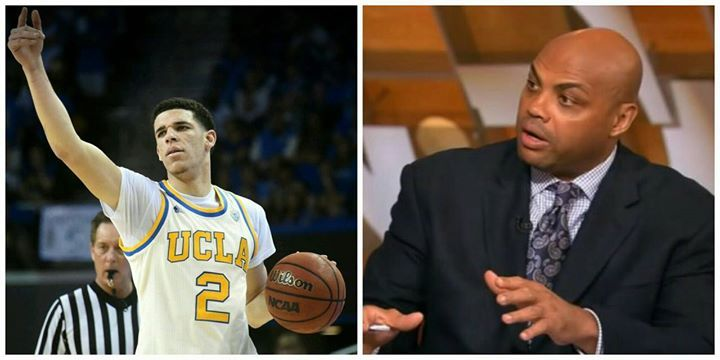 "#SirCharles RIPs Lonzo Ball's father.  ""Just because you say some Sh...... does not make it right"" ""Stephen Curry has won #MVPs he's pretty good."" He's gonna be better than Steph Curry.  ""Man let me tell you something."" That's what AAU Sh---. You can not say that guy is going to be better than Steph Curry a guy who has played 30 college games. This stuff at some point it becomes stupidity"".  -Charles Barkley       -Chucky-"