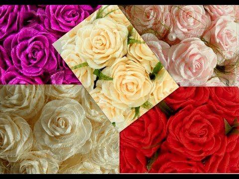 Róże z krepiny cz.1 (Paper roses - part I)