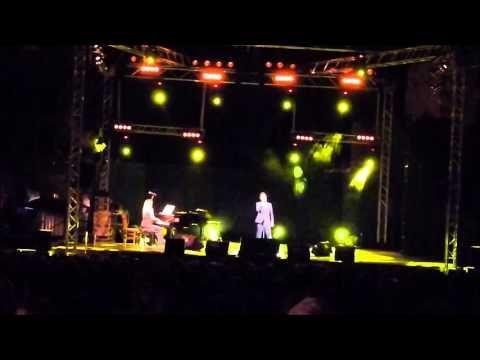 Mario Frangoulis at the castle of Mytilene (28-7-2013) part 1 - YouTube
