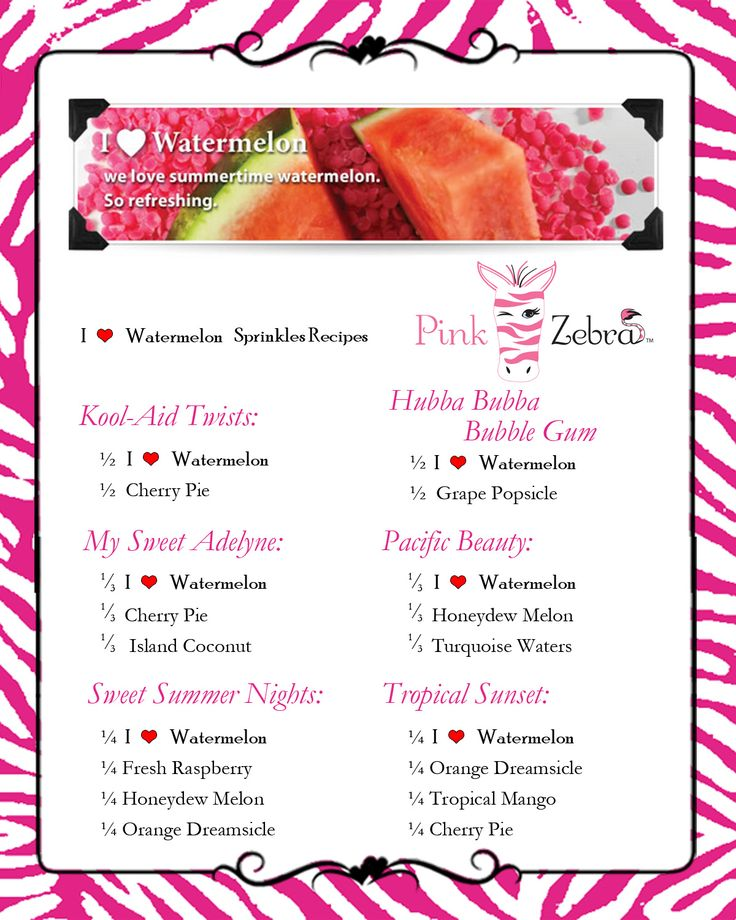 i heart watermelon recipes  pinkzebrahome com