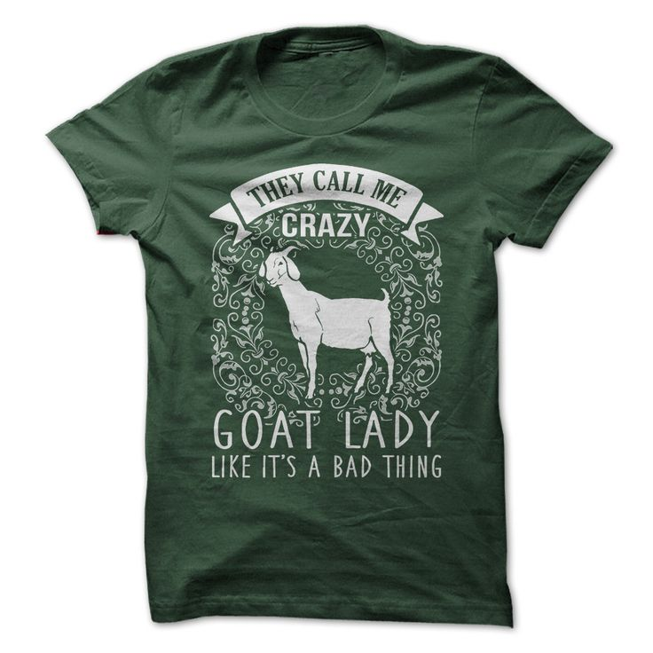How obssesed are you with goats? Show your passion with this funny shirt!