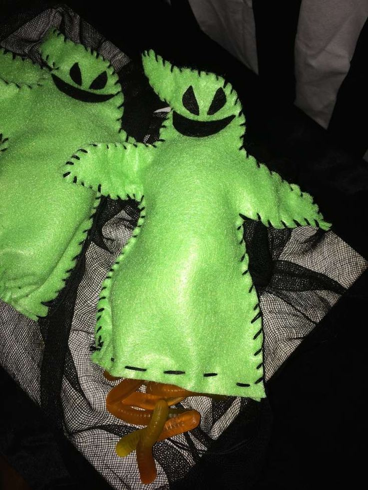 The Nightmare Before Christmas Halloween Party Ideas | Mr Oogie Boogie party favors