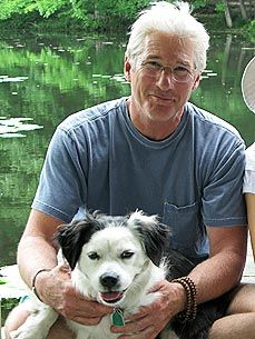 Richard Gere: Favorite Actor, Animal Lovers, Famous People, Richard Gere Lov, Celebs W Animal, Real Men, Richard Gere Stil, Celebrity And Their Pet, Dogs Faces