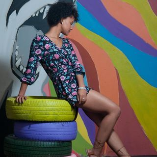 Fashion and Graffiti In Cape Town
