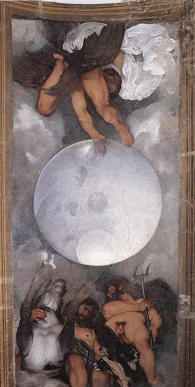 Caravaggio, Jupiter, Neptune and Pluto, Ca.1596-97, Villa Ludovisi, Rome