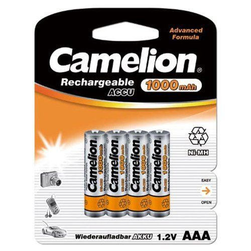 Camelion – 4 piles rechargeables ( accus ) AAA / HR03 NiMH 1000mAh: Price:7.32CAMERA_OTHER_ACCESSORIES Description du produit: Camelion…
