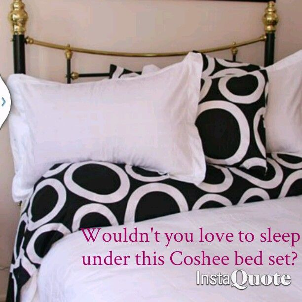 Love the Snow White Coshee bed set with the co ordinating Pebbles sheet set.