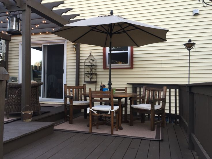 Behr deck over in the color coffee