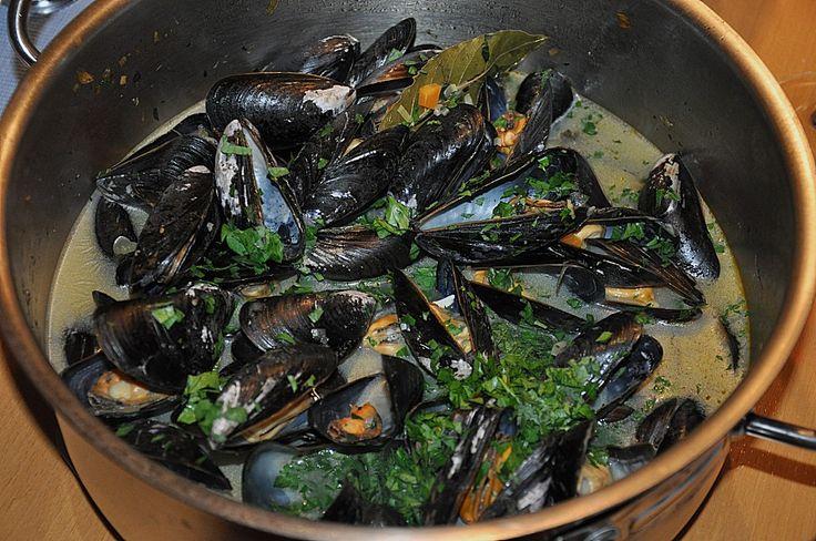Muscheln in Weißweinsauce 1