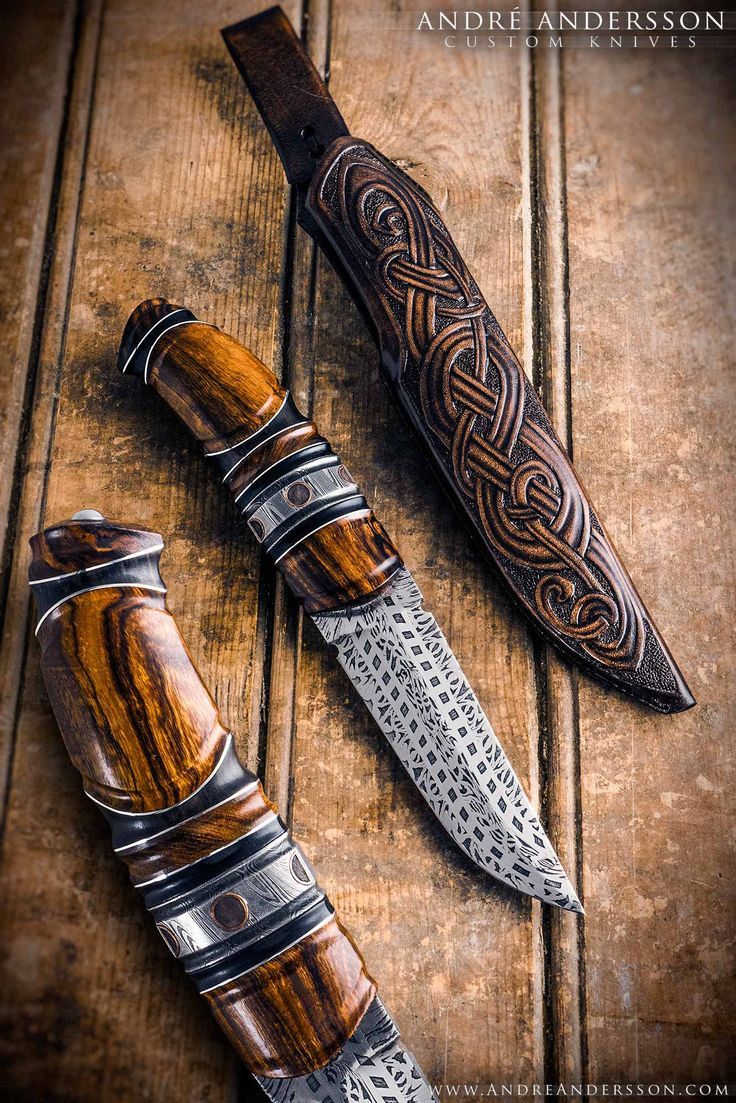 New Knives   André Andersson Custom Knives