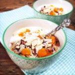 Recept havermout ontbijt met yoghurt