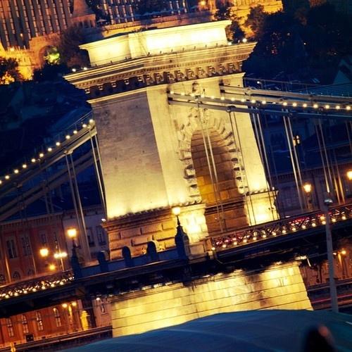 Chain Bridge #Budapest #Hungary #Europe